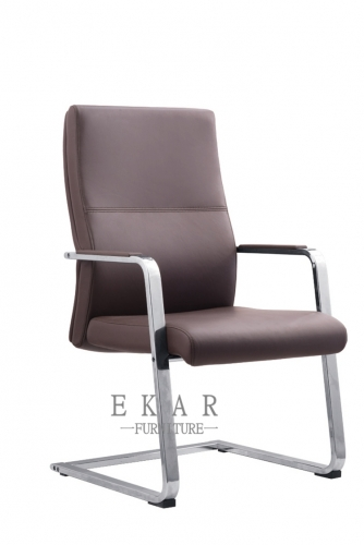 Cheap Office Furniture Red Brown Chair Conference