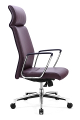 Good Quality Purple Red Office Chair Head Support