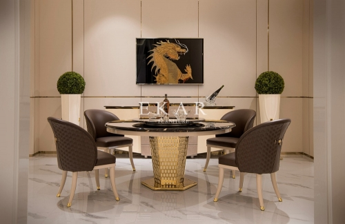 Househole Dining Table And Chair Round Dining Table