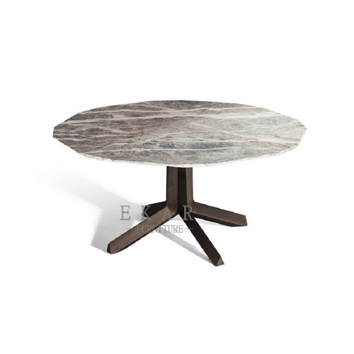 Italian Modern Design Marble Top Dining Table