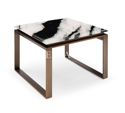 High Class Simple Modern Marble Corner Table